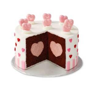 Heart Tasty Fill Cake Pan Set Bakeware Fancy Flours