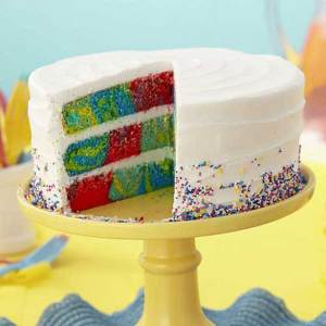 Round Checkerboard Cake Pan Set