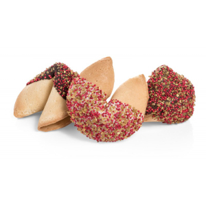SALE!  Chocolate Dipped Fortune Cookies