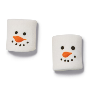 Snowman Marshmallow Candy