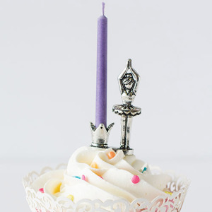 Ballerina Pewter Candle Holder