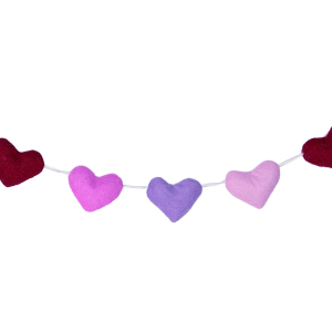 SALE!  Heart Felt Garland