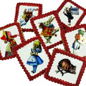 Alice in Wonderland Miniatures Wafer Paper
