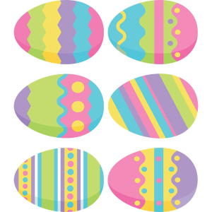 Painted Eggs Edible Wafer Paper