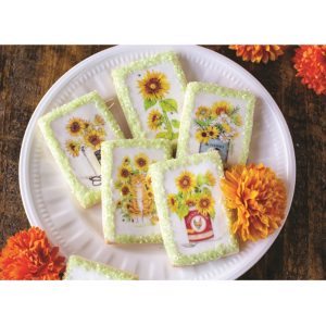 Gorgeous Sunflower Wafer Paper