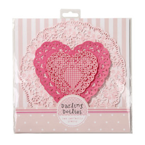 Pretty In Pink Doilies