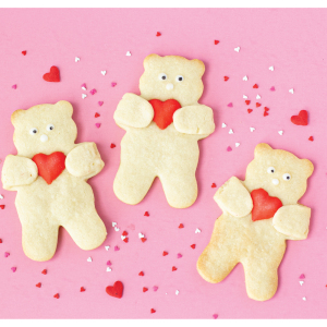 Cuddle Teddy Bear Cookie Cutter
