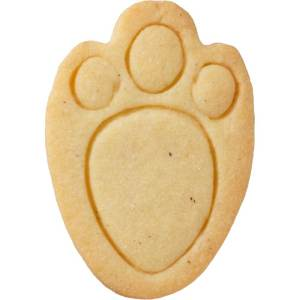 Rabbit's Foot Cookie Cutter