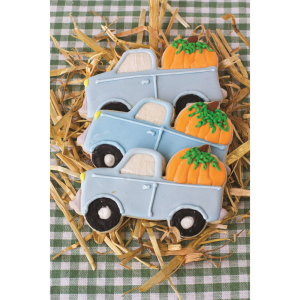 Truck with Pumpkin Cookie Cutter