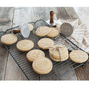 Greetings Heirloom Cookie Stamps - Nordic Ware