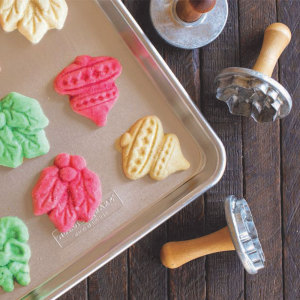 Holiday Cookie Stamps Cut-Outs - Nordic Ware