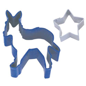 Political Party Blue Donkey Cookie Cutter Set