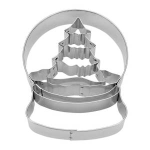Tree in Snowglobe Cookie Cutter