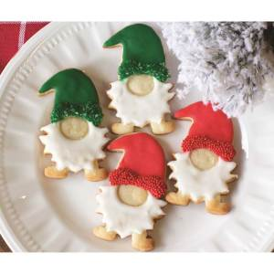 SOS!  Nordic Gnome Cookie Cutter