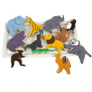 Zoo Collection Cookie Cutter Set