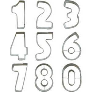 Numbers Cookie Cutter Set, Small