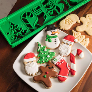 SALE!  Santa's Kitchen Press & Bake