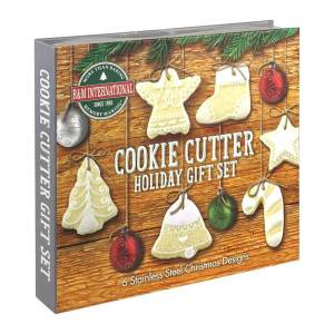 Boxed Christmas Cookie Cutter Gift Set