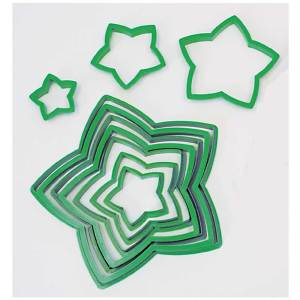 Star Tree Cookie Cutter Set