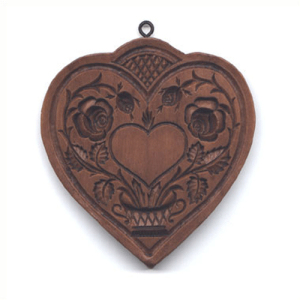 Quilted Heart Cookie Mold