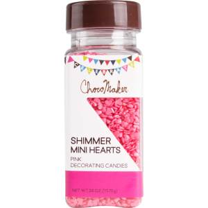 Mini Pink Shimmer Hearts