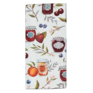 SALE! Fruit Canning Terry Towel