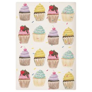 Sweets /& Treats reversible vintage cupcakes and flowers 100/% cotton pet bandana