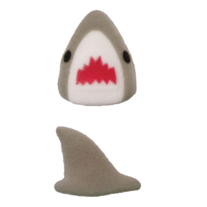 LTD QTY!  Shark Buddies Sugar Decorations