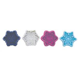 Snowflake Cookie Stamp & Cutter Set