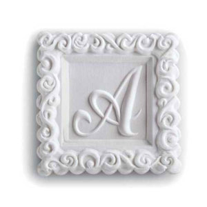 Monogram A Cookie Mold