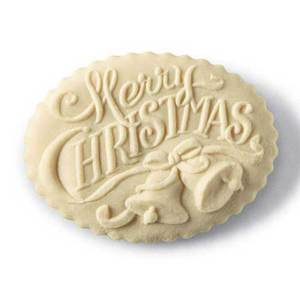 Merry Christmas Cookie Mold