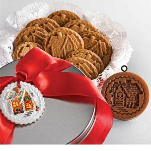 Gingerbread Cottage Cookie Mold