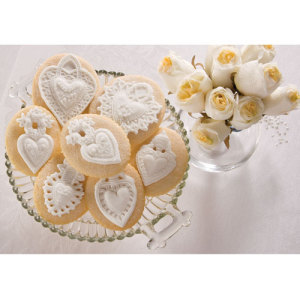 Four Hearts Cookie Mold