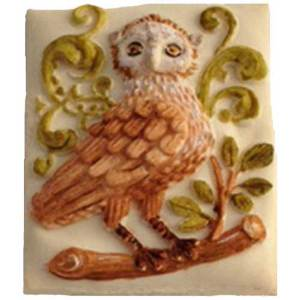 Baroque Owl Cookie Mold