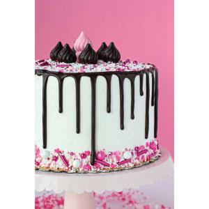 DIAMANTE EFFECT TRIM CAKES BRIDAL CRAFT SMOKEY BLACK*  ALL SIZES*