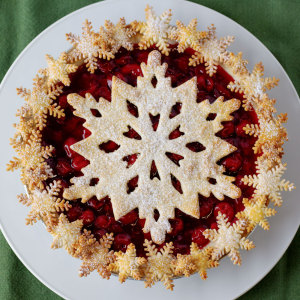 Giant Snowflake Cookie Cutter, Tin