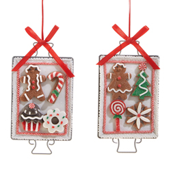 Cookie Sheet Ornament Set