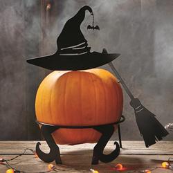 SALE!!  Witch Pumpkin Stand
