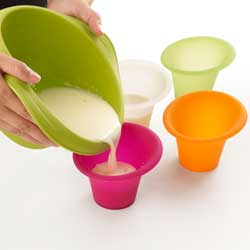 SALE!  Minute Cake Baking Molds, Set of 4 - Lekue