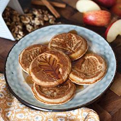 SALE!  Autumn Leaves Pancake Pan - Nordic Ware