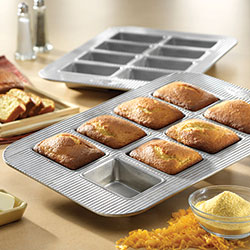 8 Well Mini Loaf Pan - USA Pan