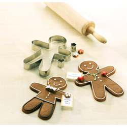 Gingerbread Man for All Seasons, Stainless Steel