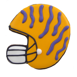 Cookie Cutter Football Helmet, Tin