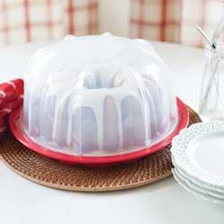 Translucent Bundt Cake Keeper