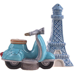 SALE!  Retro Paris Salt & Pepper Shakers