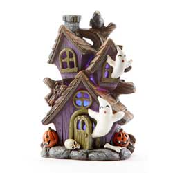 SOS! Crow Lighted Haunted House
