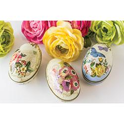 SALE!  Nostalgia Egg Tins