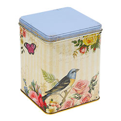 SALE!  Bird Tea Caddy with Tea Bags