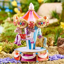 Mini Carousel Decoration