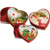 Nesting Vintage Valentine Boxes, Set of 3